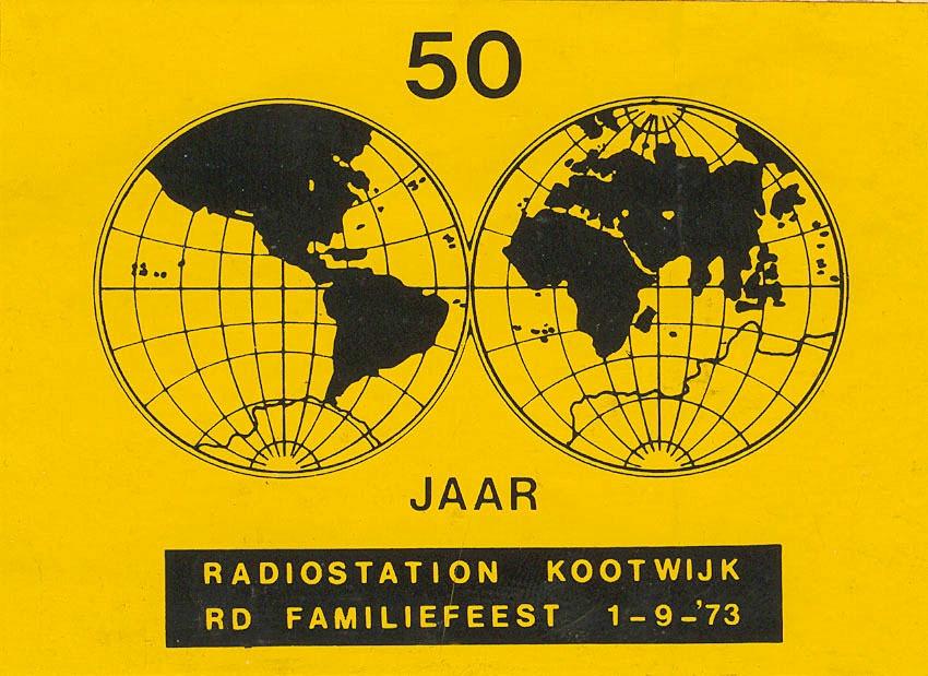 RKwk Sticker RD feest 1-9-1973