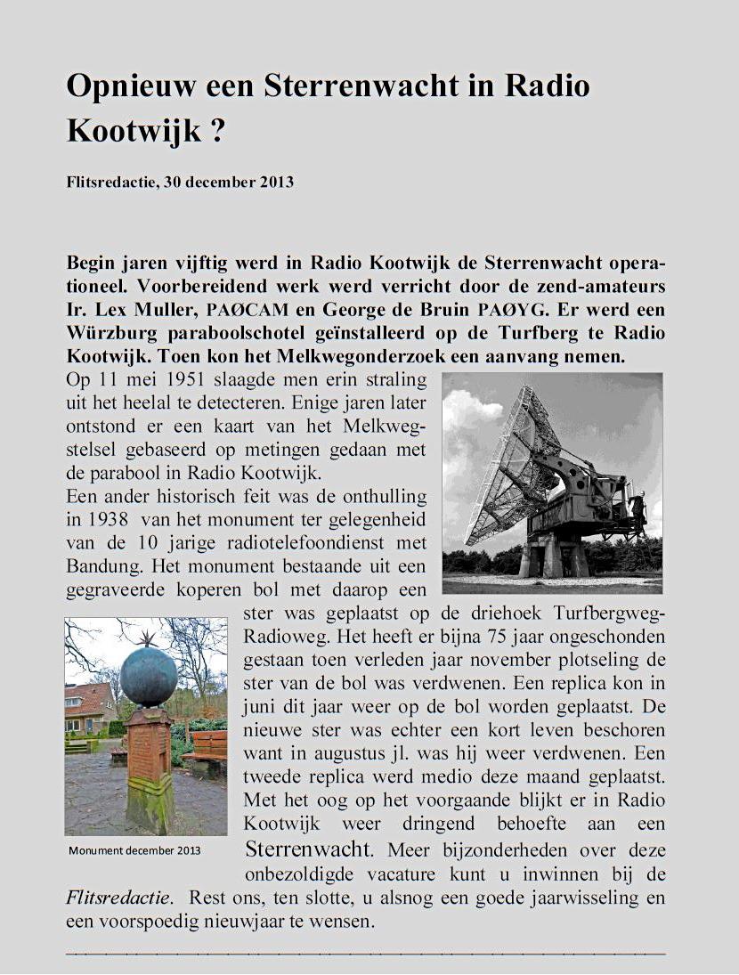 Sterrenwacht RKwk